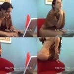 Madura hermosa se desnuda en el chat
