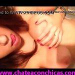 Chavita hermosa se graba desnuda en el baño muestra sus tetoas y culote a su novio