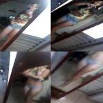 Jovencita sexy se desnuda por un reto para ganar likes en facebook