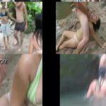 Jovencitas pervertidas cogiendo en el rio