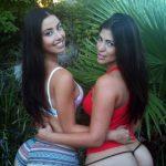 Hermosas chicas culonas y nalgonas mostrando tanga
