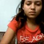 morrita de 18 años se graba para el novio y se masturaba